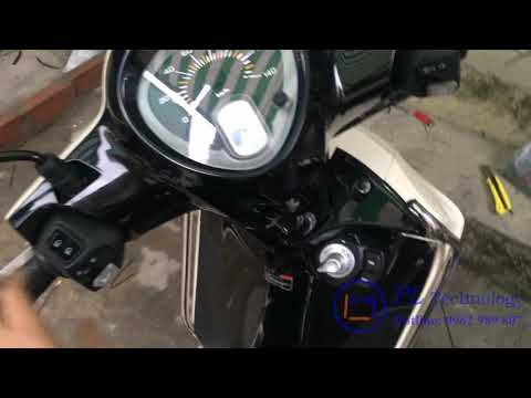 Yamaha Smartkey Lên Cho Xe Janus