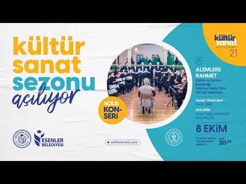 Süleyman Çelebi Kültür Sanat Sezonu Açılış Programı - Canlı Yayın