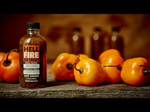 "Hell Fire Detroit ""Manzana"" Hot Sauce Review"