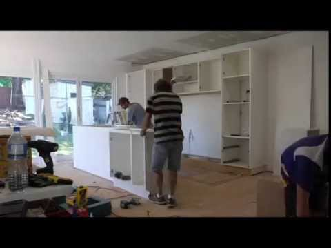 How to Install a New Kitchen: Time Lapse