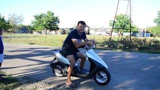Тестируем скутер. Honda dio af35