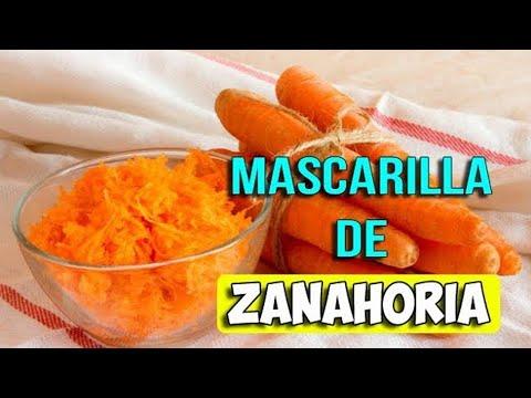 Mascarilla de zanahoria para manchas y nutrir la piel. Ecodaisy
