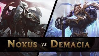GOTTKÖNIGE - DARIUS vs GAREN - NOXUS vs DEMACIA
