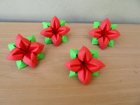 How to make a paper flower 4 petals easy tutorials youtube how to make a paper flower 4 petals easy tutorials mightylinksfo