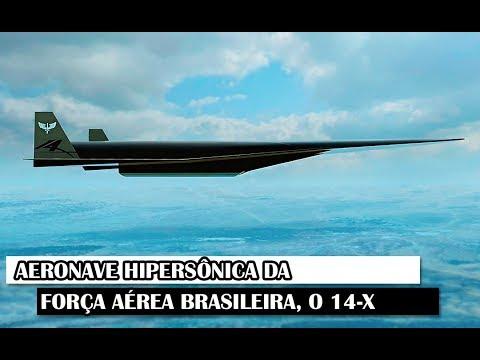 Aeronave Hipersônica Da Força Aérea Brasileira: O 14-X