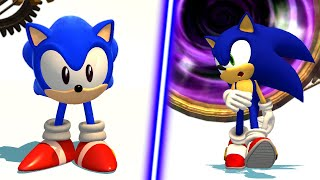 Sonic Generations A Little Weird