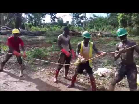 FloFlo drilling in Ghana 2