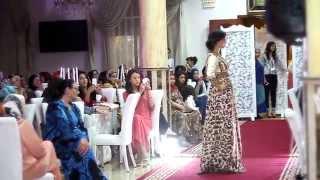 Défilé de Soundy Caftan à Tanger le 2 Mai 2014 - Rabea Sattour