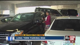 Travelers learn hard lesson on long term parking