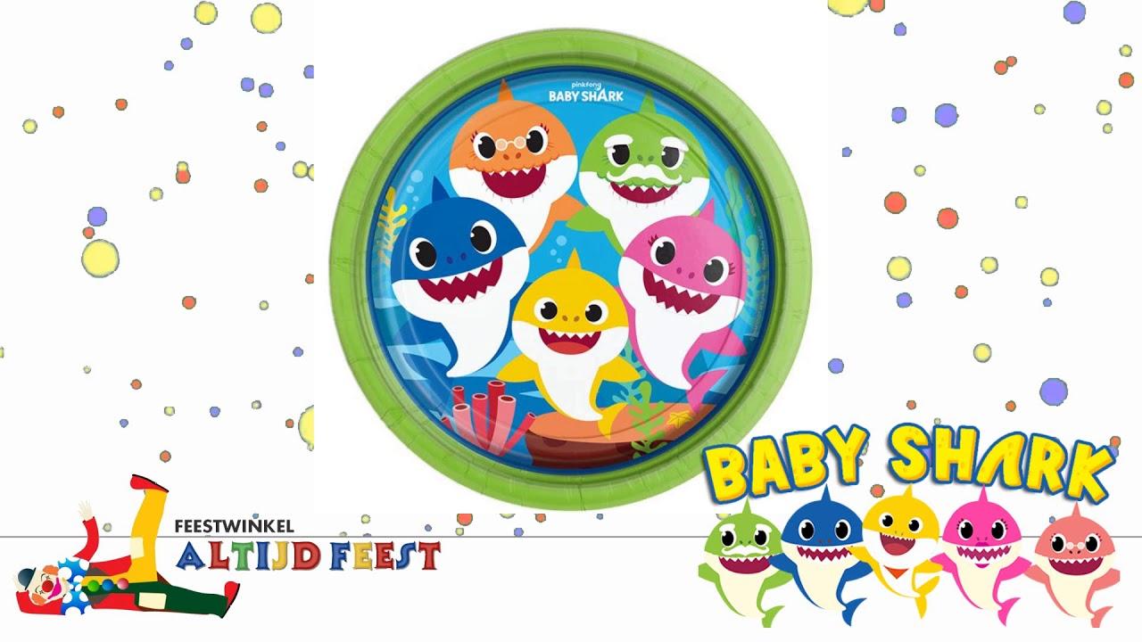 BABY SHARK VERSIERING BIJ FEESTWINKEL ALTIJD FEEST
