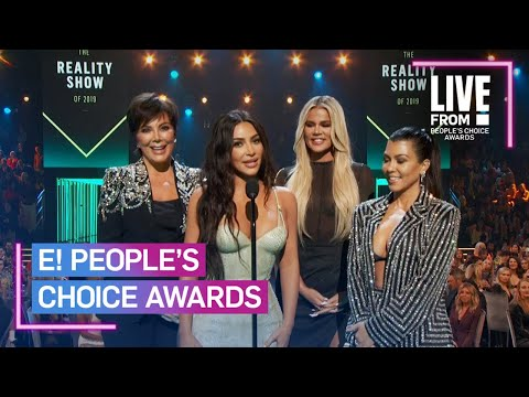 Kardashians Thank Fans After Keeping Up Win at 2019 E! PCAs | E! People's Choice Awards
