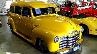 1952 Chevrolet Suburban 3100 Carry All Custom Hot Rod 350 V8