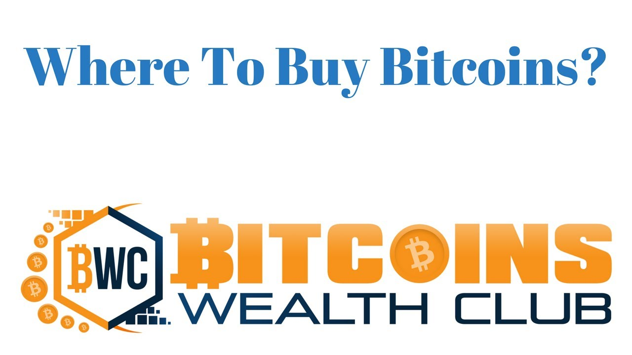 Guide To Buy Bitcoins