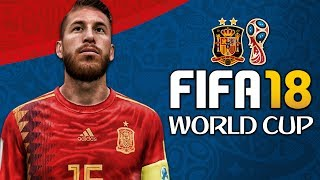 SPAIN WORLD CUP FULL PLAY THROUGH!!! FIFA 18 World Cup Mode