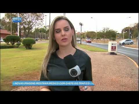 Novas imagens mostram médico com chefe do tráfico em Brasília