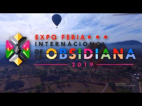 Expo Feria Internacional de la Obsidiana 2019, en Rancho El Hórreo, en Teotihuacán