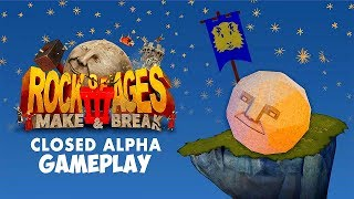 Rock of Ages 3 Make and Break Gameplay Closed Alpha 1080p60