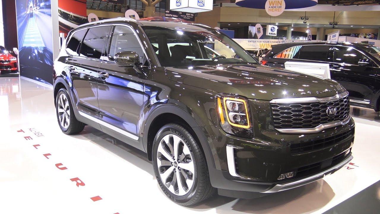 2020 kia telluride sx v6 - exterior and interior walkaround - 2019 toronto auto show