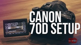Canon 70D Settings for High Quality DSLR Video