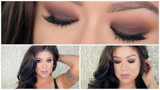 Fall Makeup Tutorial: Brown Smokey Eyes