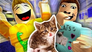 Adopting PETS In Roblox with DENIS!
