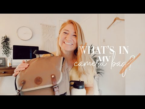 WHAT'S IN MY CAMERA BAG? | Wedding Photographer