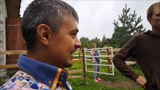 #Поездка в гости к деревенским блогерам#канал Будни фермера#Саша+Маша-РЕСПЕКТ!!!#