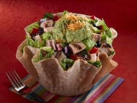 Como hacer un Taco Salad