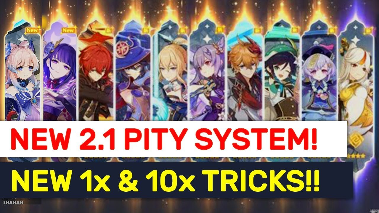 NEW 2.1 HIDDEN Wish Rate/Pity System Tricks! 1x Wish \u0026 10x Wish Tips!   Genshin Impact