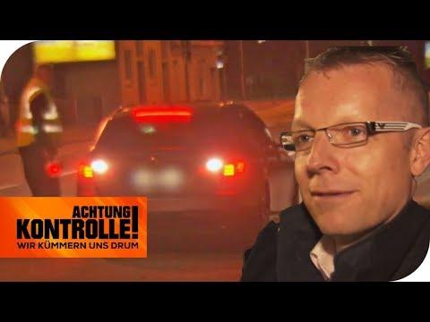 80.000€-Auto und viel zu schnell  - Sind ihm Verkehrsregeln egal? | Achtung Kontrolle | kabel eins