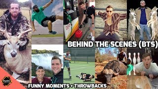 Dude perfect : Behind the scenes | Funny Moments