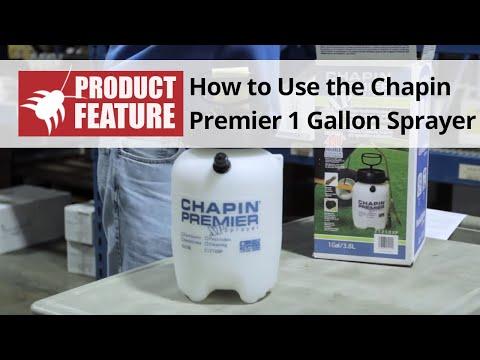Chapin Premier 1 Gallon Hand Pump Sprayer