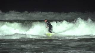 Night Surfing with Vision X LED Lighting