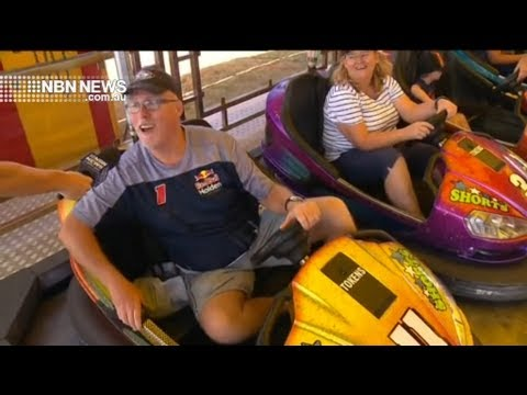 Dean Mackin From 2HD At The 2019 Newcastle Show On NBN News Newcastle 1st March 2019