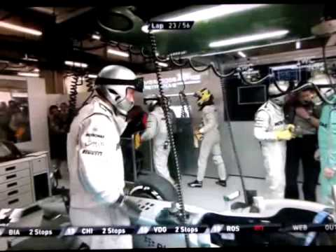 Chinese GP F1 2013 BBC Highlights