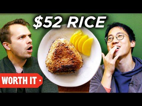 $4 Rice Vs. $52 Rice