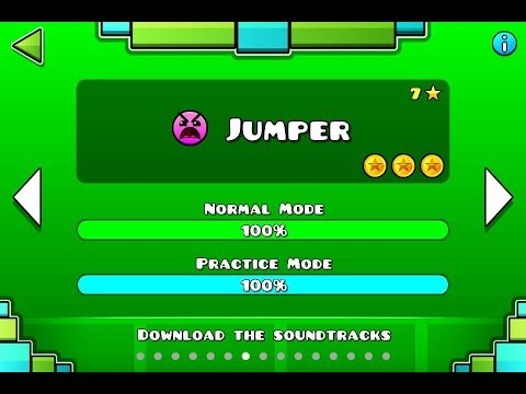 Geometry Dash  Level 7:Jumper All Coins