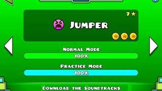 Geometry Dash - Level 7:Jumper (All Coins)