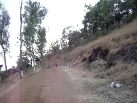 Nilkantheshwar entry road
