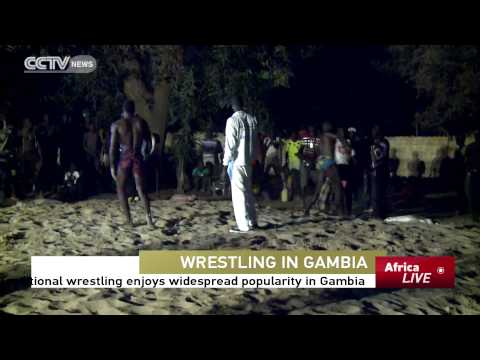 Traditional Wrestling Enjoys Widespread Popularity In Gambia