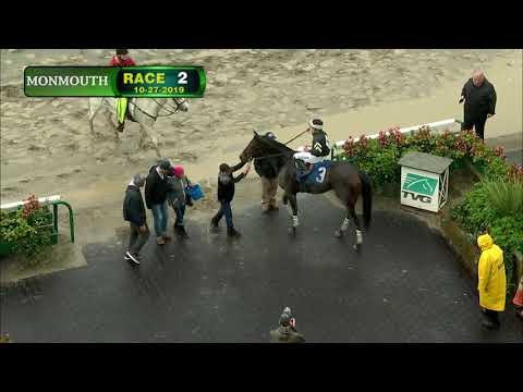 video thumbnail for MONMOUTH PARK 10-27-19 RACE 2