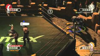 lucha libre aaa heroes del ring multiplayer trailer