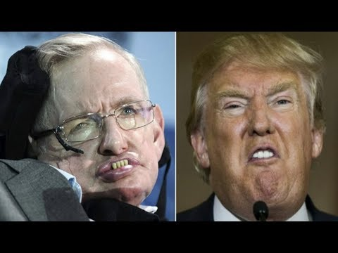 Stephen Hawking's Chilling Warning To The World About President Trump