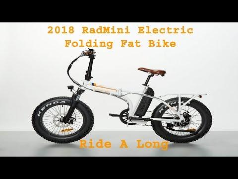 2018 RADMINI  ELECTRIC FAT FOLDING RAD POWER BIKE 18 Ride A Long