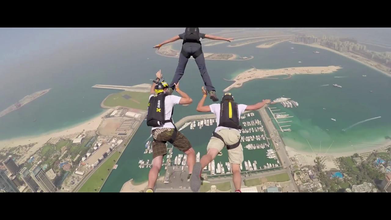 Dream Jump in Dubai 4K By XDubai - YouTube