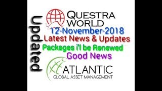 Questra World || AGAM || Shocking News || Good News about Packages || 12-11-2018
