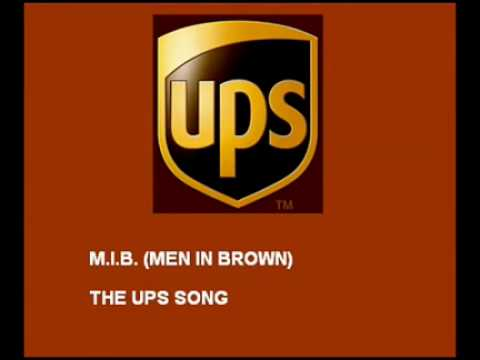 #UPS Song (Men In Brown)