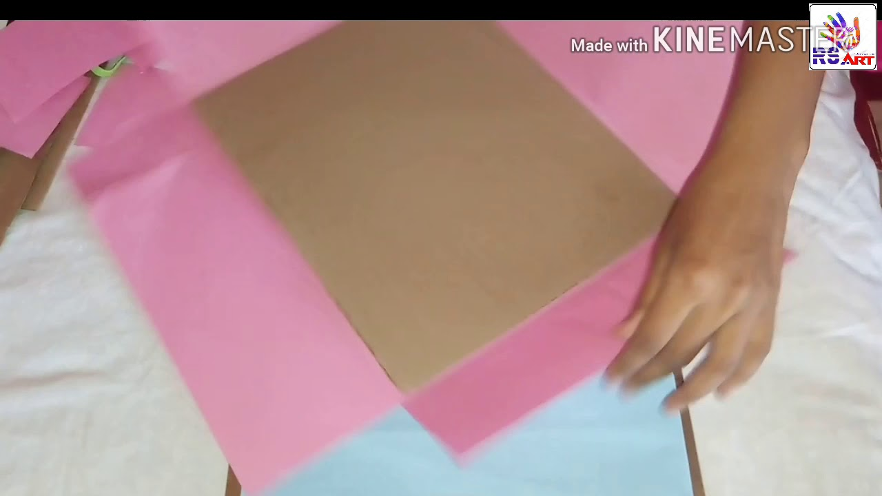 Make Your Own Cover File At Home With Cardboard Art Paper School Project