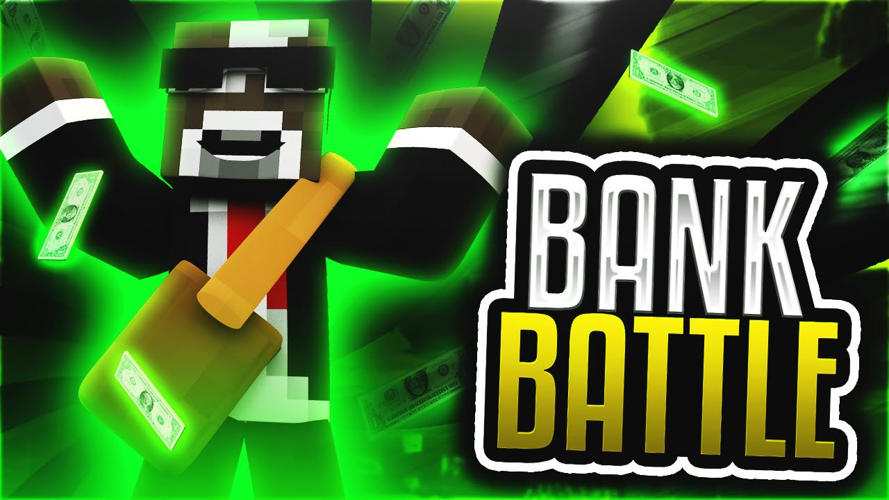So Much Money In My Bank Minecraft Bank Battle Server Minigame