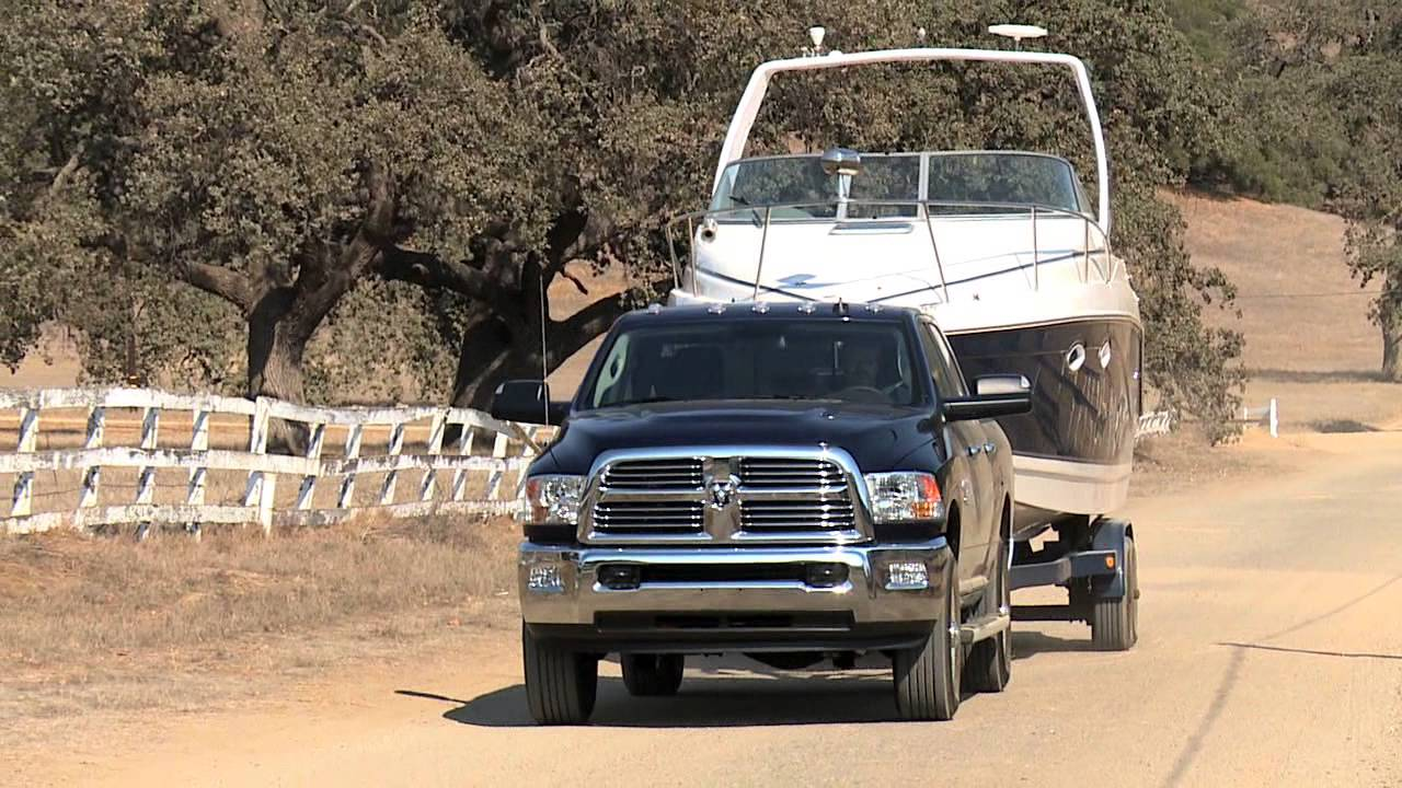 2014 ram 3500 and ram 1500 ecodiesel towing youtube. Black Bedroom Furniture Sets. Home Design Ideas